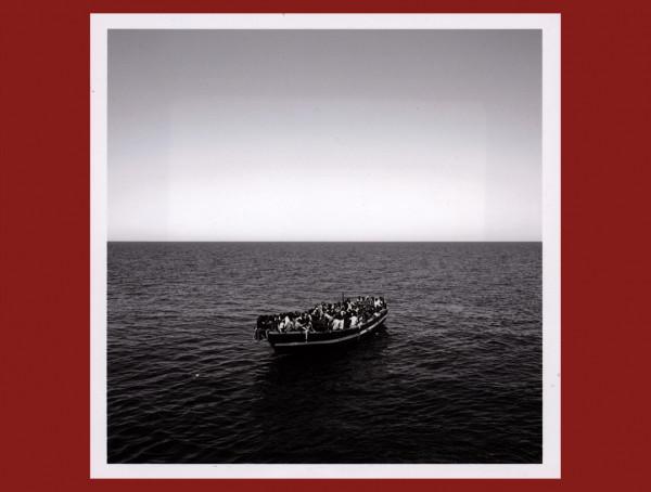 Eritrean Migrants 15 miles off libyan coast