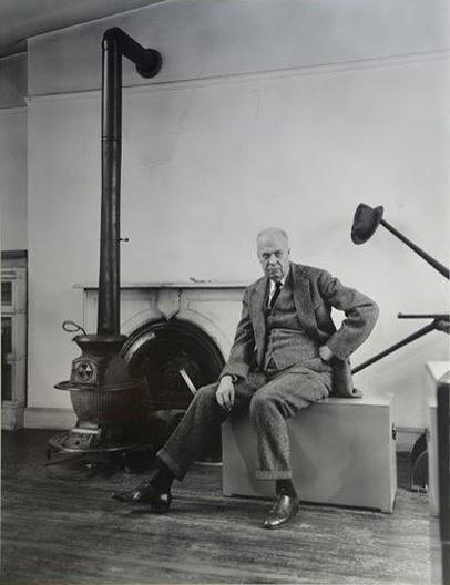 Berenice Abbott, Bildnis Edward Hopper
