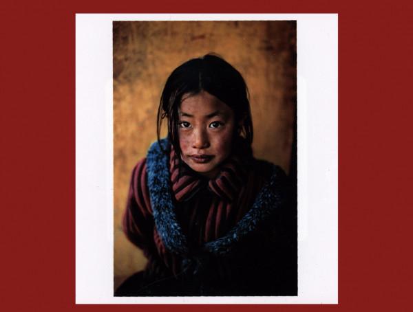 Girl in chinese coat